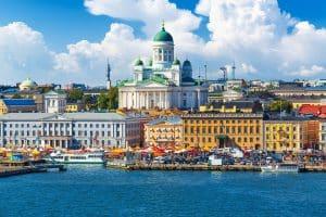 finland ทวีปยุโรปเหนือ